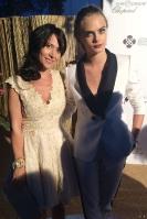 Fabienne Carat & Cara Delevingne - Gala Leonardo Di Caprio
