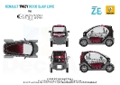 Renault Twizy Rock Glam Love by Christophe Guillarme