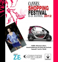 Cannes Shopping Festival 2012 - Christophe Guillarmé & Renault Twizy