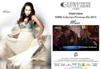 Interview Moon One TV - Defile Christophe Guillarme