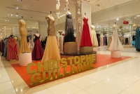 Galeries Lafayette Dubai Mall corner Red Carpet
